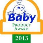 TROPHEE BEST BABY PRODUCT AWARD — 2013